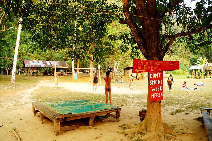 Blue Lagoon in Vang Vieng 3