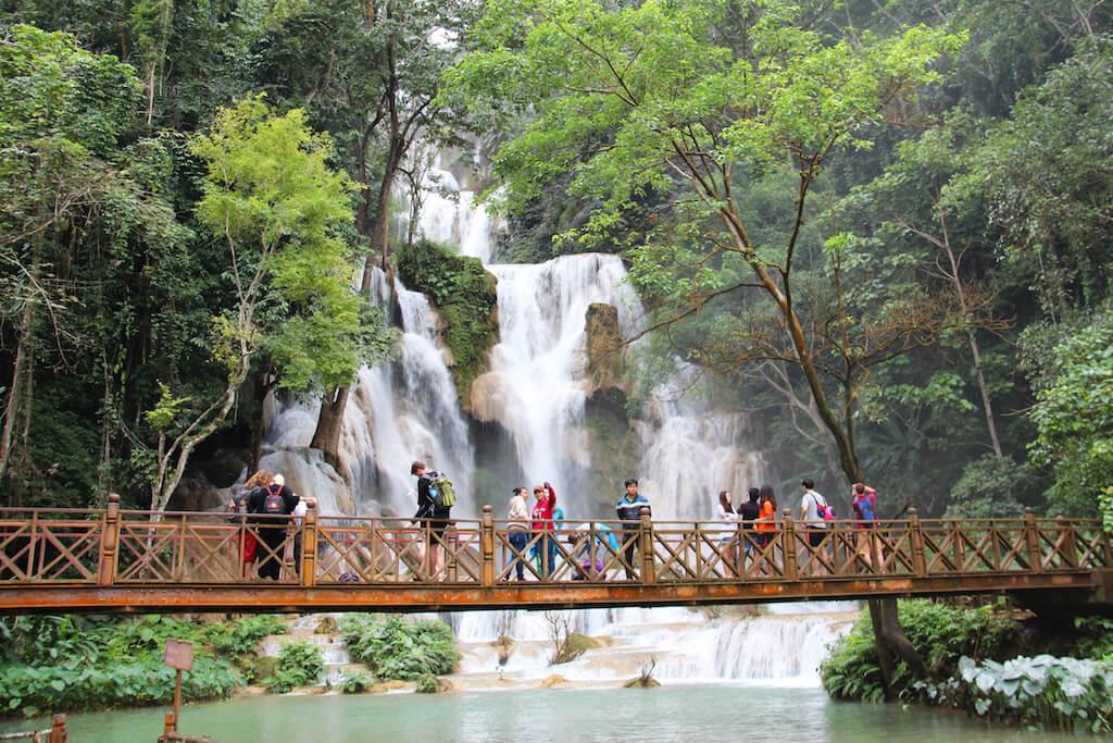 Kuang Si Waterfalls 3