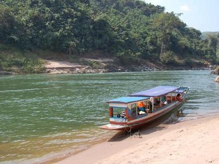 Local Boat - North Laos, Nam Ou River - Muang Khua