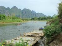 Day 3: Vientiane - Vang Vieng (B)