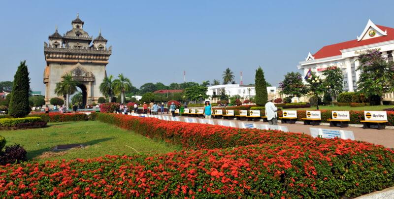 Patuxai in Vientiane 7