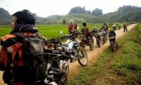 Day 3: Pak Lay Dirt Roads to Sanakham – Off-road 60% – approx. 130km (B, L)
