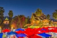 Day 9: Luang Prabang City Tour  - Fly To Hanoi (B)
